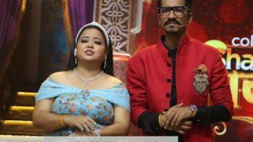 Shandaar Ravivaar ke kuch interesting pal Bharti aur Haarsh ke beech!