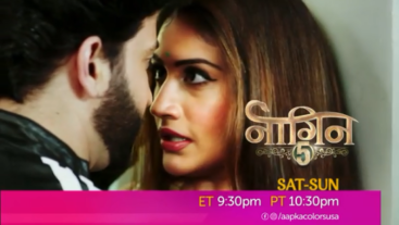 Watch Naagin Sat-Sun 9.30 PM ET / 10.30 PM PT on Aapka Colors USA.
