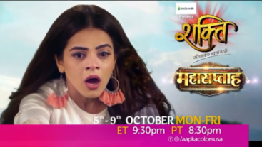 Watch Shakti Mon-Fri 9:30 PM ET / 8:30 PM PT
