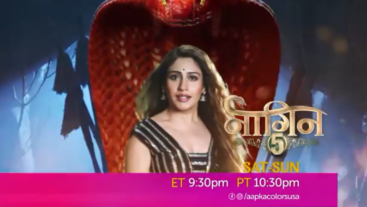 Watch Naagin 5 Sat-Sun 9:30 ET/10:30 PM PT on Aapka Colors US!
