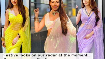 Just the stunning outfits worn by Surbhi Chandna a.k.a. Bani that are in sync with Navratri!
