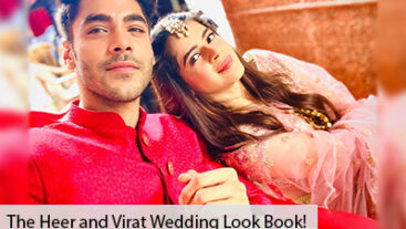 The Heer and Virat Wedding Look Book