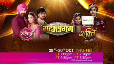 Watch Mahasangam 29-30 Oct on Aapka Colors USA