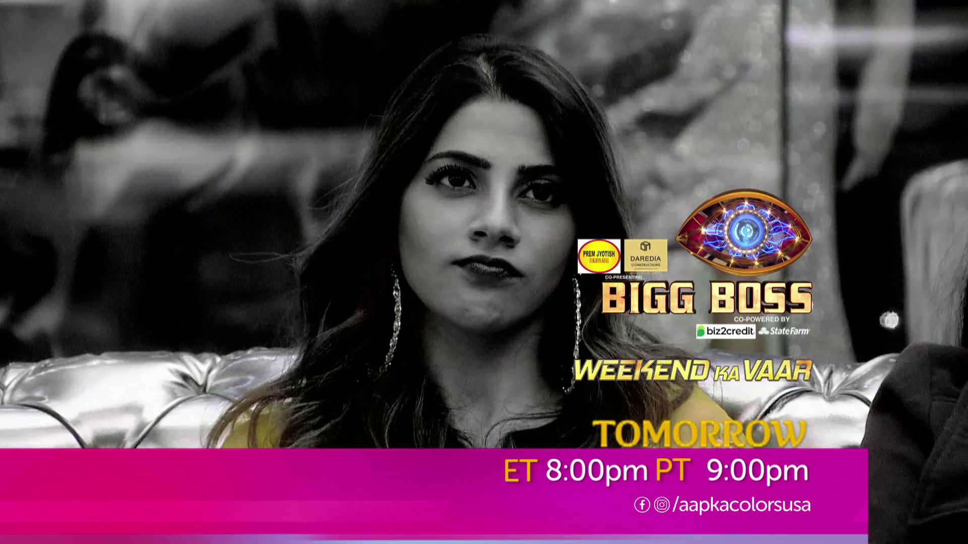 Watch Bigg Boss 14 Weekend Ka Vaar Sat-Sun 8 PM ET/ 9 PM PT