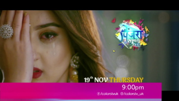 Watch Pinjara Khubsurti Ka on 19th Nov Mon-Fri 9 PM Colors UK
