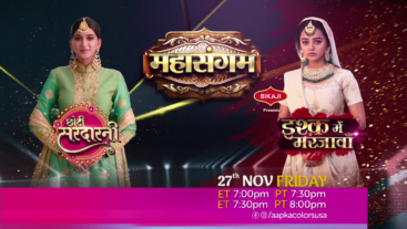 Watch Mahasangam 27th Nov Friday on Aapka Colors USA