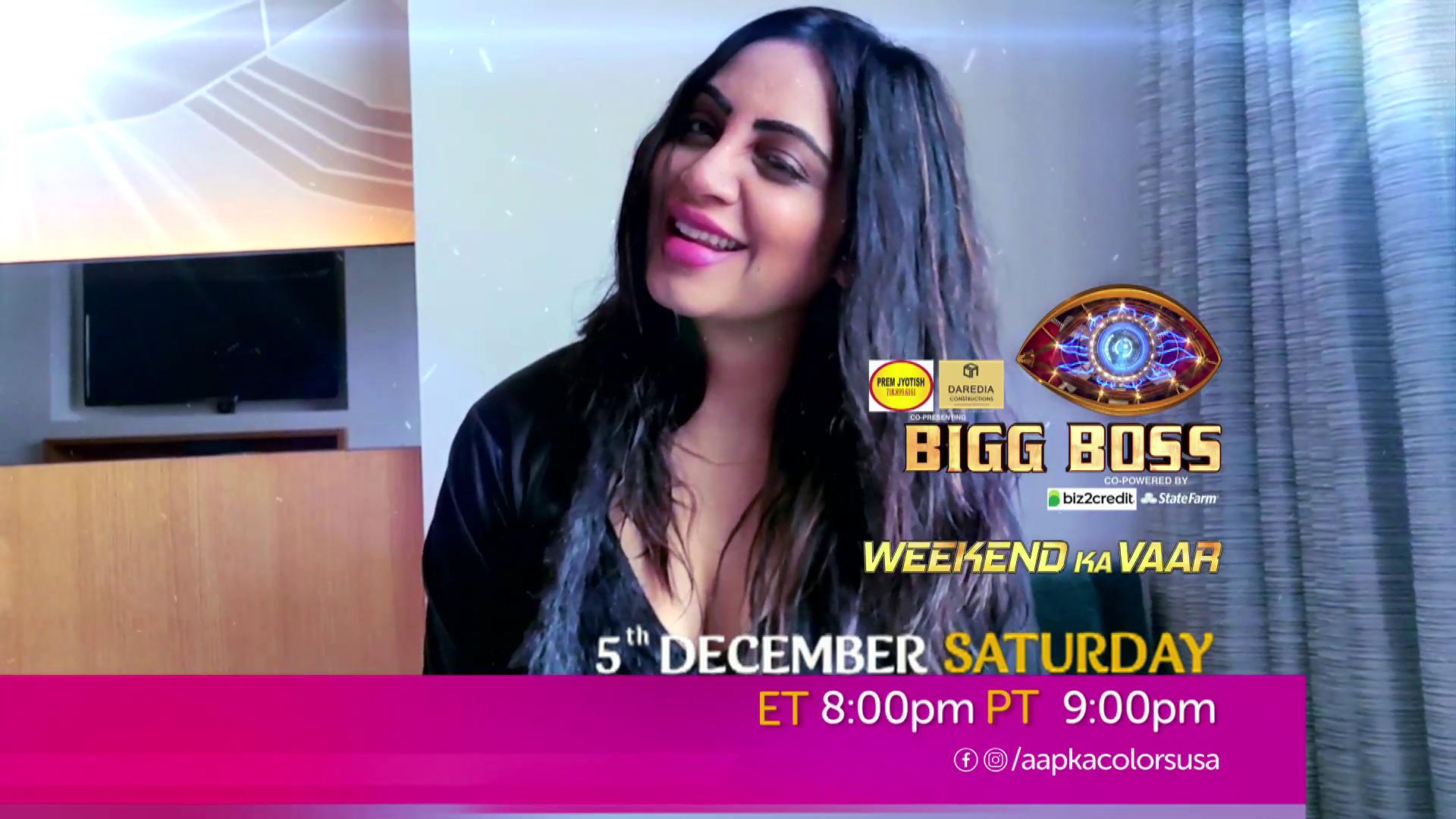 Watch Bigg Boss Weekend Ka Vaar Sat-Sun ET 8:00pm PT 9:00pm