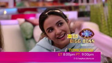 Watch Bigg Boss Tomorrow ET 8:00pm PT 9:00pm