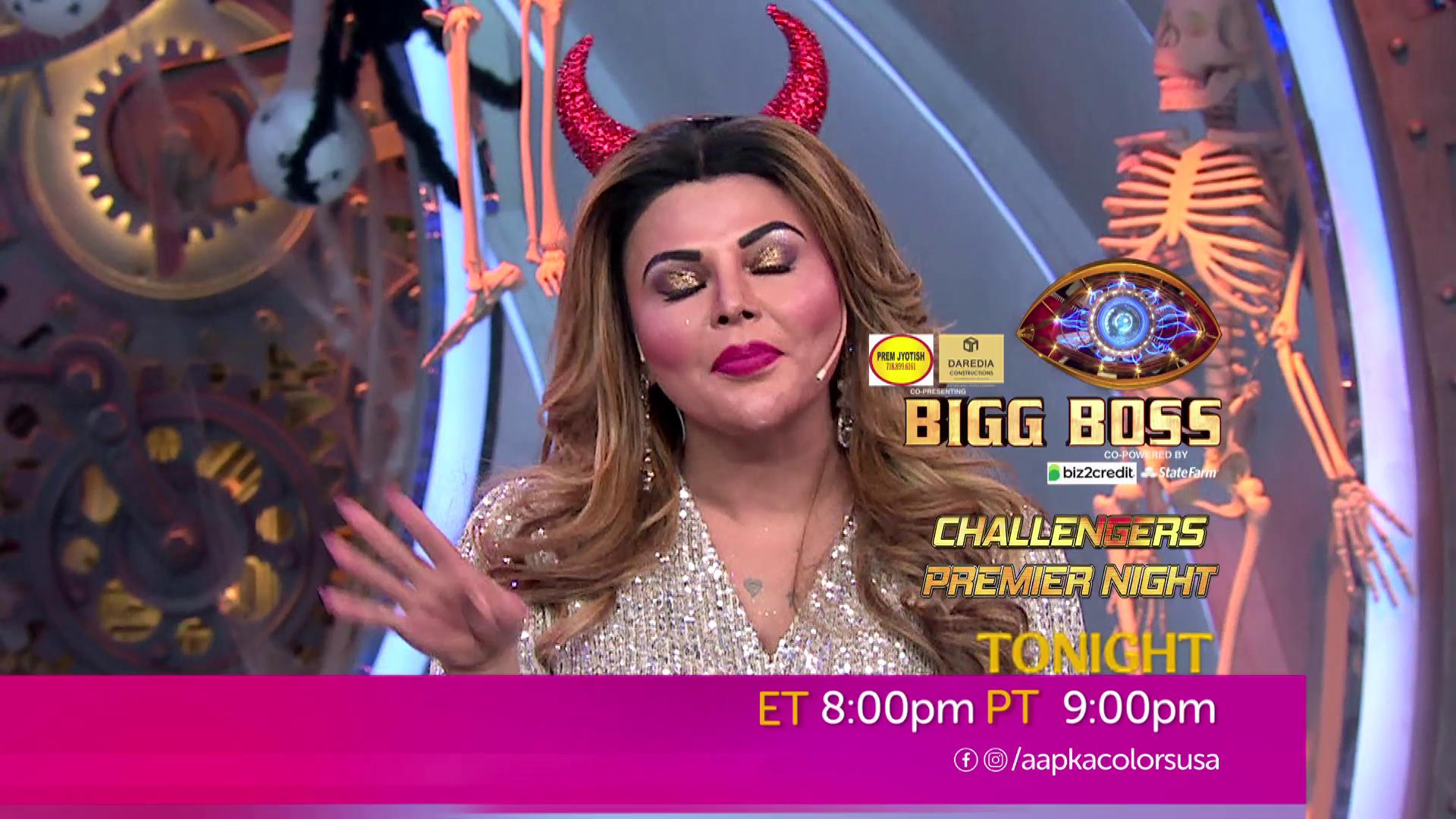 Watch Bigg Boss Challengers Premier Night Sat-Sun ET 8:00pm PT 9:00pm