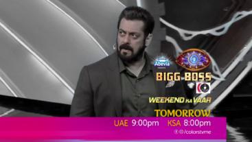 Watch Bigg Boss Weekend Ka Vaar Sat-Sun UAE 9:00 pm