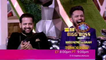 Watch Bigg Boss Weekend Ka Vaar Sat-Sun ET 8:00pm PT 9:00pm on Aapka Colors.