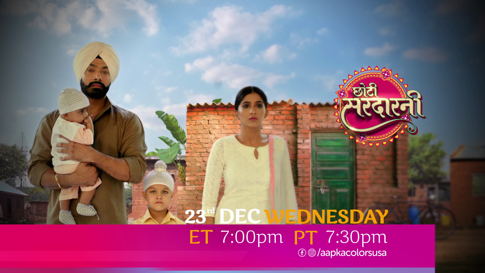 Watch Choti Sarrdaarni 23rd Dec Wed ET 7:00pm PT 7:30pm on Aapka Colors