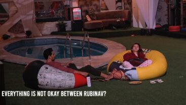 A clash of opinions between Rubina and Abhinav?