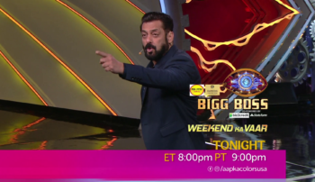 Watch Bigg Boss Everyday ET 8:00pm PT 9:00 on Aapka Colors