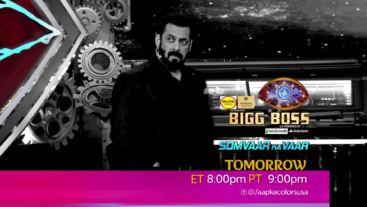 Watch Bigg Boss Somvaar Ka Vaar ET 8:00pm PT 9:00pm on Aapka Colors