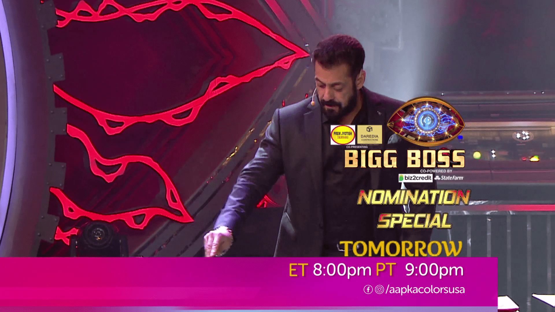 Watch Bigg Boss Nomination Special Tomorrow ET 8:00pm PT 9:00pm on Aapka Colors