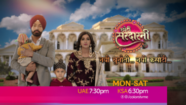 Watch Choti Sarrdaarni Mon-Sat at 7:30pm Only on Colors TV