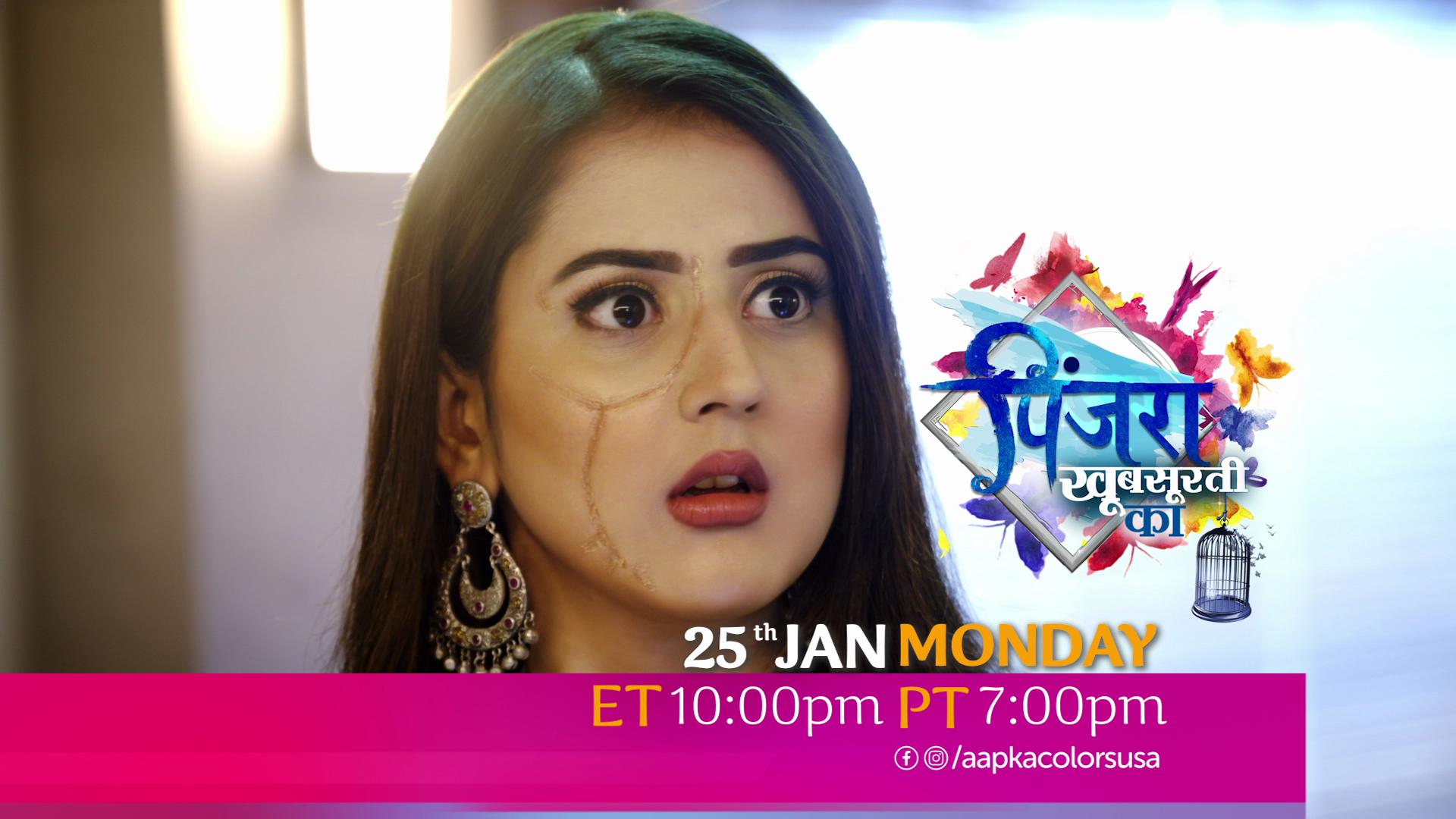 Watch Pinjara Khubsurti Ka 25th Jan ET 10:00pm PT 7:00pm Only on Aapka Colors TV
