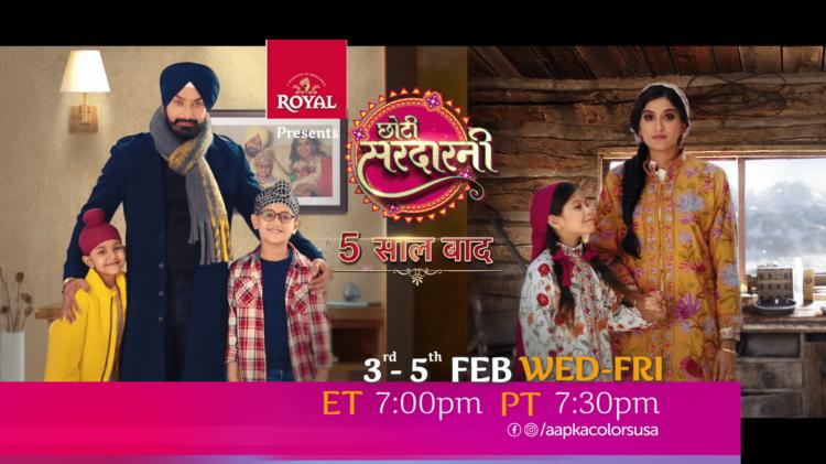Watch Choti Sarrdaarni 3rd-5th Feb Wed-Fri ET 7:00pm PT 7:30pm on Aapkacolors