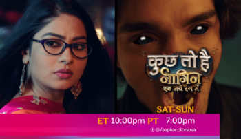 Watch Kuch Toh Hai – Naagin Ek Naye Rang Mein Sat-Sun ET 10:00pm PT 7:00pm on Aapkacolors