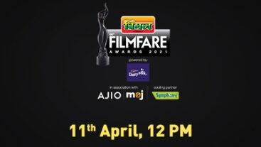 Filmfare 2021 | 11th April, 12 PM