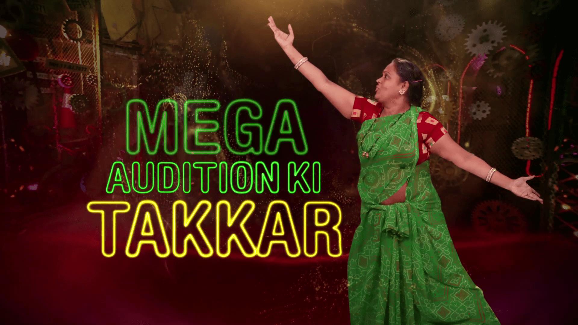 Watch Dance Deewane Mega Audition Takkar Sat-Sun ET 8:00pm PT 9:00pm on Aapka Colors