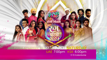 Namak Issk Ka Holi Special on 27th March Saturday at 7:00 PM on Colors Tv