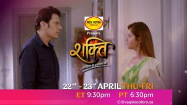 Watch Shakti Mon-Fri ET 9:30 pm PT 6:30 pm only on Aapka Colors