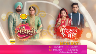 Watch Choti Sarrdaarni & Barrister Babu only on Aapka Colors