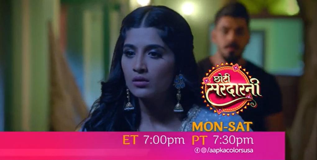 Watch Choti Sarrdaarni Mon-Sat ET 7:00pm PT 7:30pm on Aapka Colors