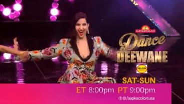 Watch Dance Deewane Sat-Sun ET 8:00pm PT 9:00pm on Aapka Colors