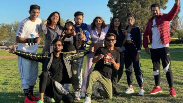Check out our Khiladi's bonding in Cape Town!