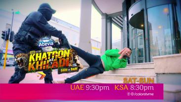 Khatron Ke Khiladi   Sat-Sun @ 9:30pm   Colors TV