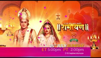 Ramayan | Mon-Sat ET 5:00pm PT 2:00pm | Aapka Colors
