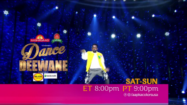 Dance Deewane | Sat-Sun ET 8:00pm PT 9:00pm | Aapka Colors