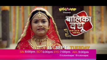 Balika Vadhu | Mon-Fri 8:00pm | Colors TV