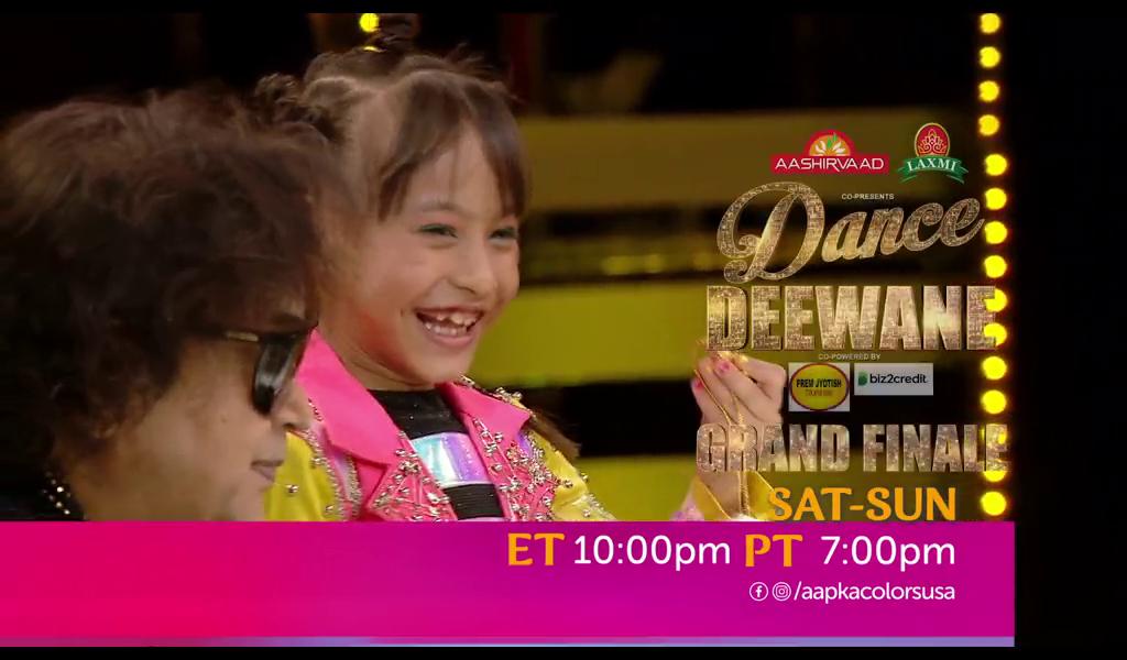 Dance Deewane | Sat-Sun ET 10:00pm PT 7:00pm | Aapka Colors